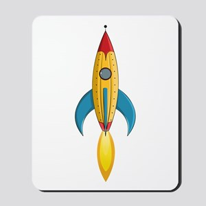 Rocket Ship Mousepad
